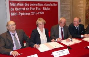 Signature CPER Midi-pyrénées - Maryse BEYRIE