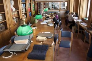 Salle de lecture des Archives Départementales