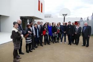 Visite du chantier de la MDEF des Hautes-Pyrénées